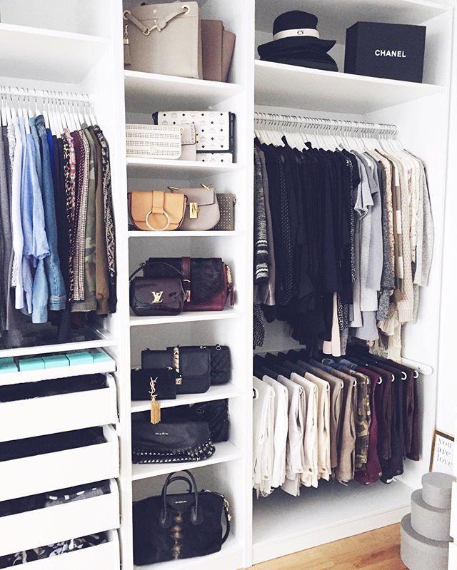 closet Closet Pinterest Kleiderschrankorganisation - schränke für schlafzimmer
