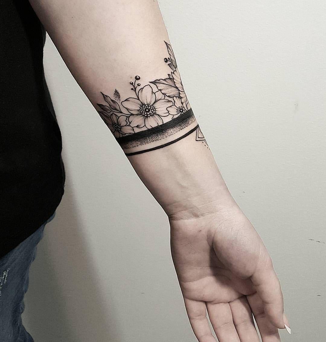 Mandala Peony Dekuju Moc Za Statecnost Wrap Around Wrist Tattoos Cuff Tattoo Wrist Band Tattoo
