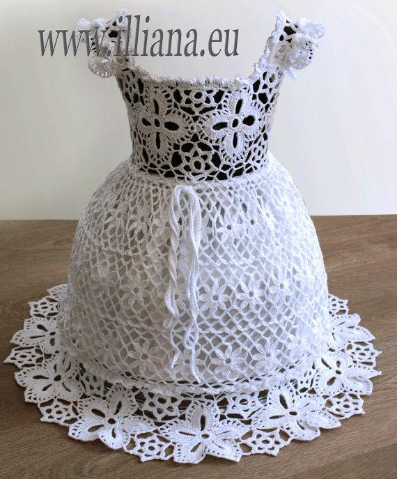 Patrón de ganchillo vestido Nº 65 | Обувь | Pinterest | Patrón de ...