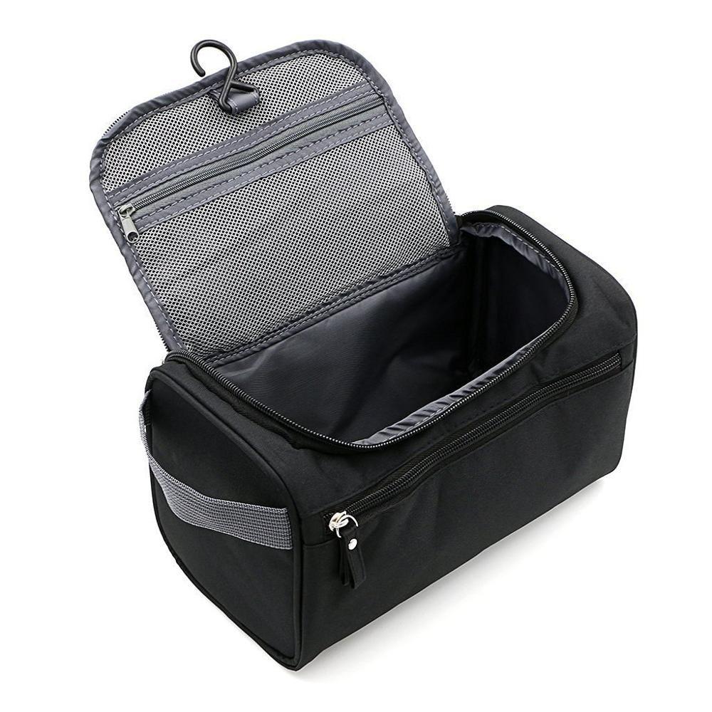 Travel Toiletry Wash Bag Men Shaving Dopp Kit Pouch Women Makeup Organizer Cases
