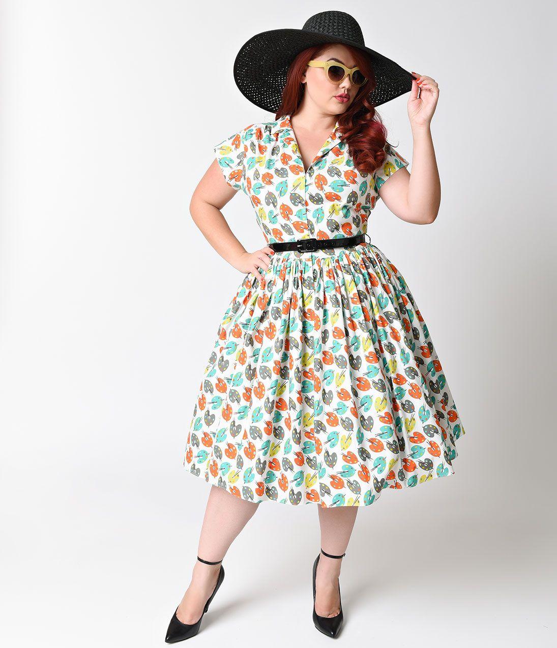 Plus Size Retro Dresses 50s 60s 70s 80s 90s Plus Size Vintage Dresses Plus Size Retro Dresses Plus Size Wedding Dresses With Sleeves