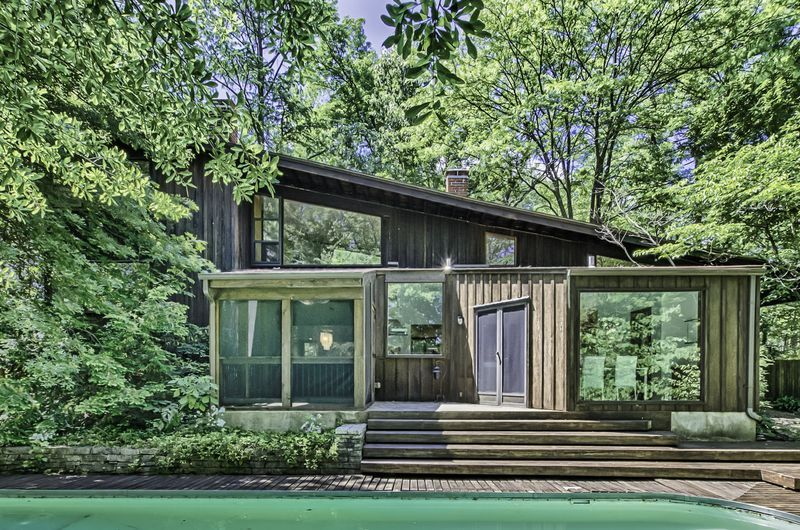Harris Armstrong Designed Modern Home Built In 1948