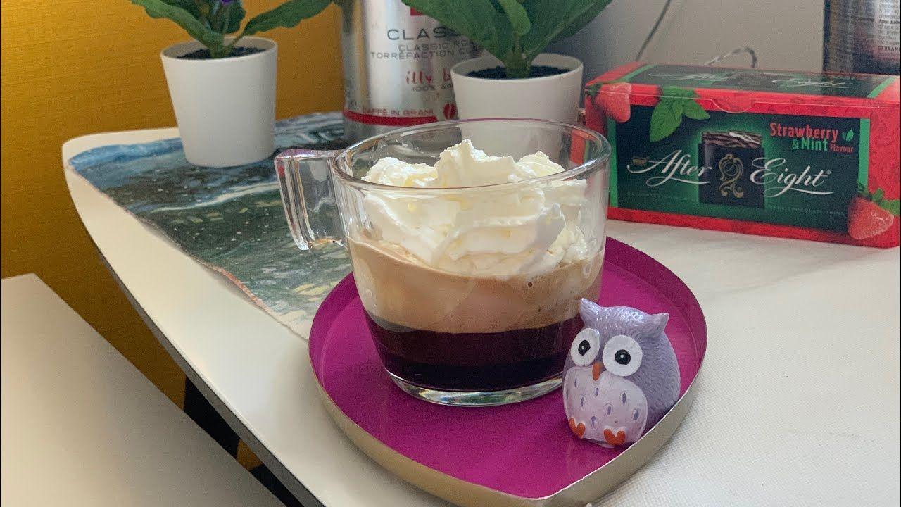افضل مكائن القهوة ديلونجي Vienna Coffee Con Panna Delonghi Dedica Ec685 جربت اسبريسو بطريقة جديدة شوية عليها كريمة تحفة Coffee Mint Chemex
