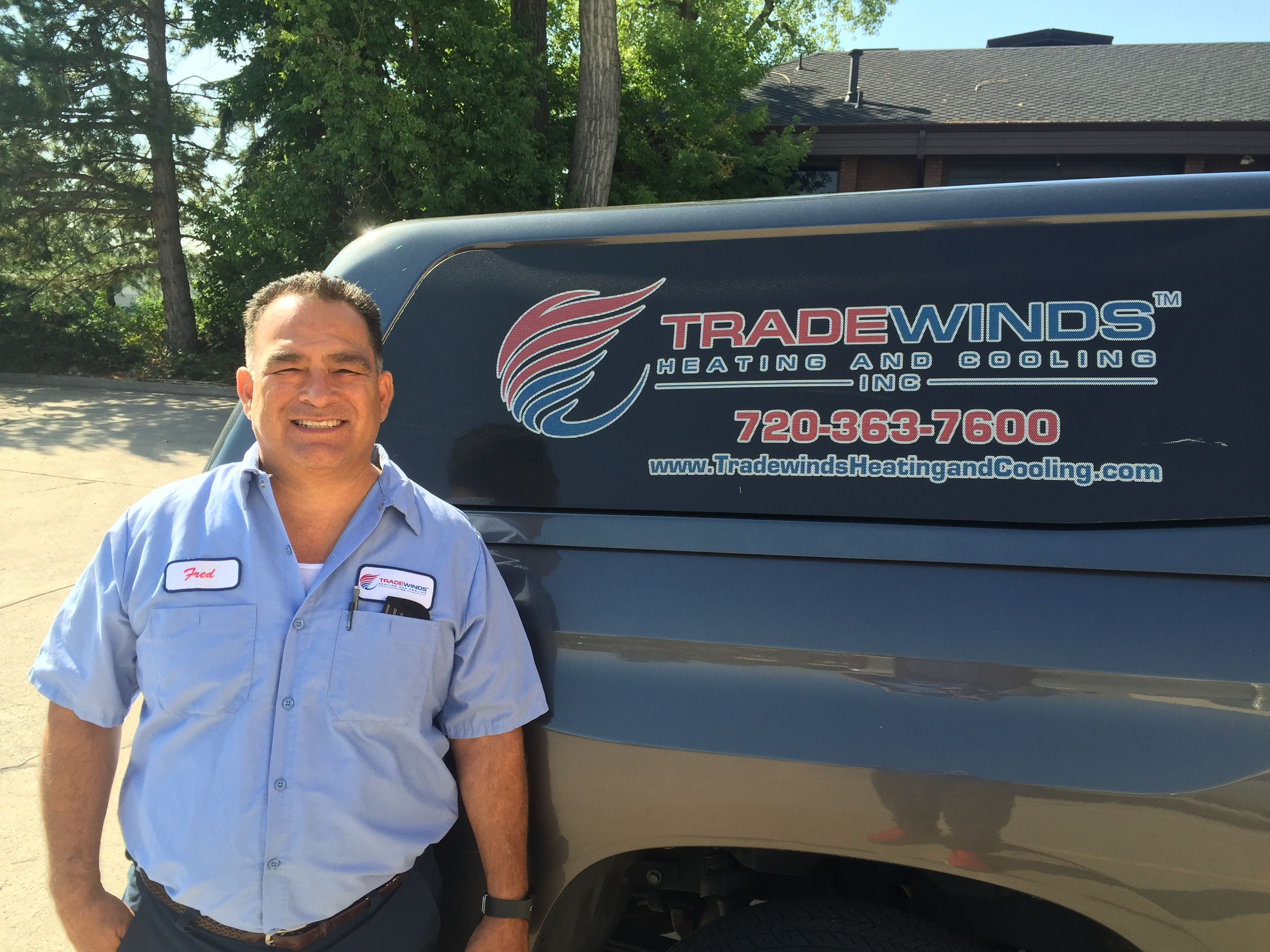 Fred Is The Owner Of Tradewinds Heating And Cooling Inc Call Us