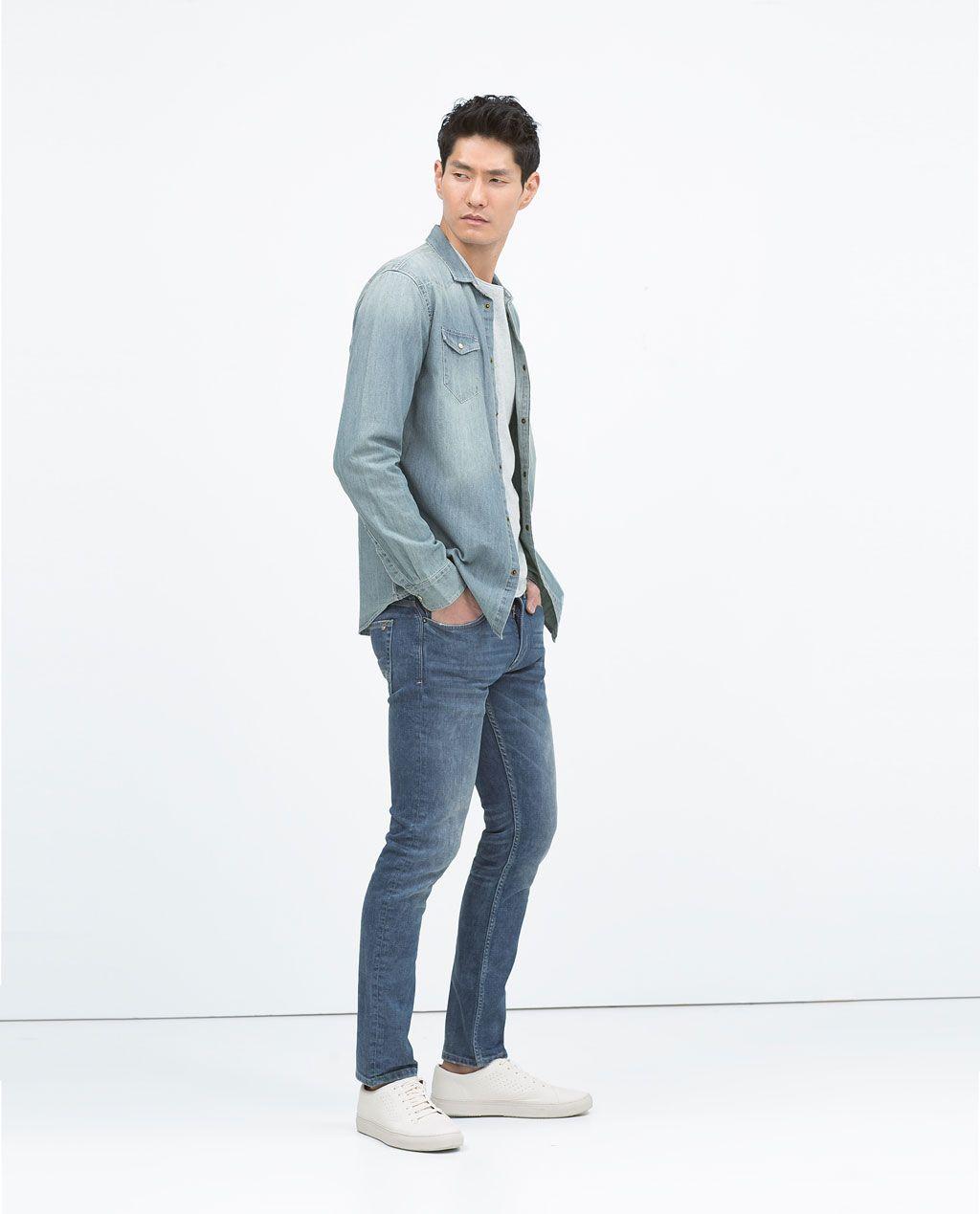 Pantalon Denim Slim Colores Ver Todo Jeans Hombre Jeans Fit Slim Fit Jeans Slim Fit