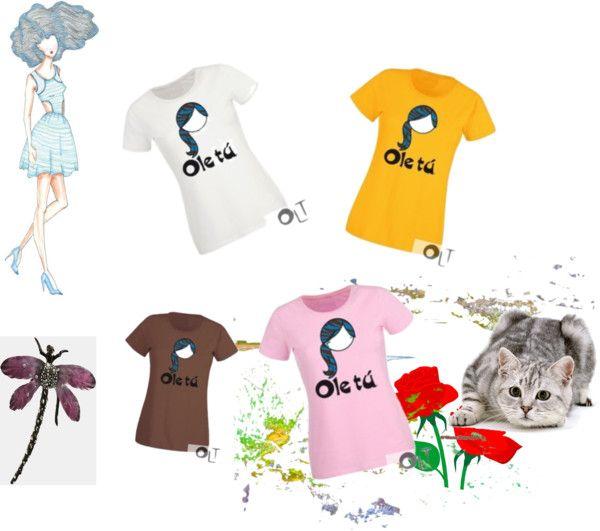 """Camiseta Lola Zebra de Ole tú"" by oletuleon on Polyvore"