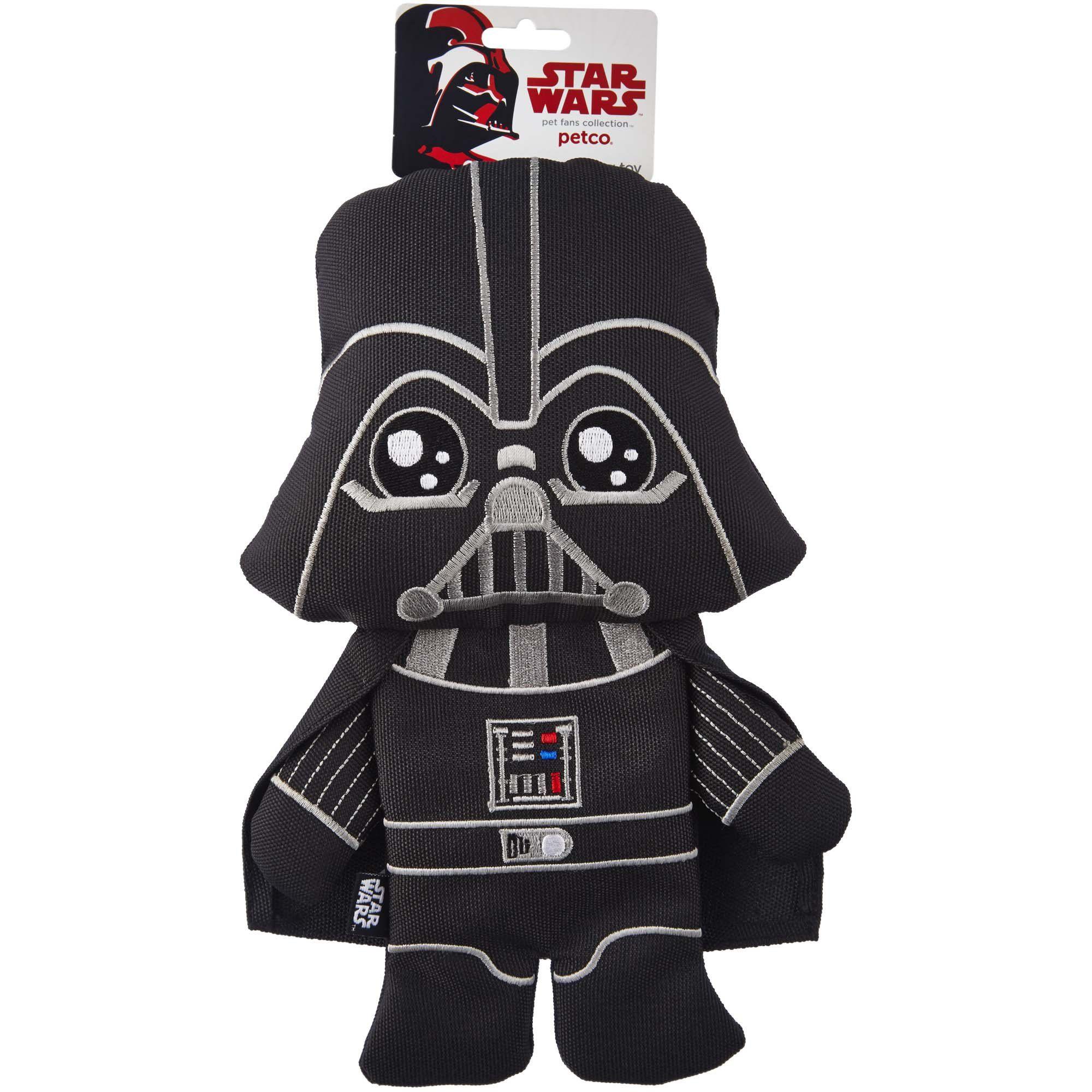 Star Wars Darth Vader Flattie Dog Toy Medium Petco Petco Dog