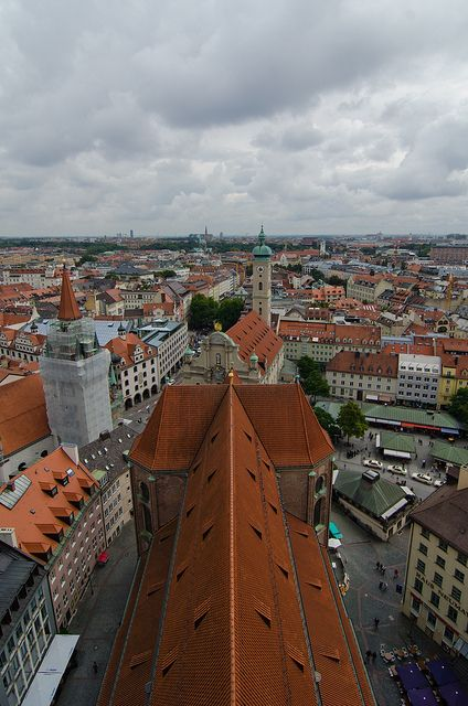 View From Peterskirche Wonders Of The World Places To Go Germany