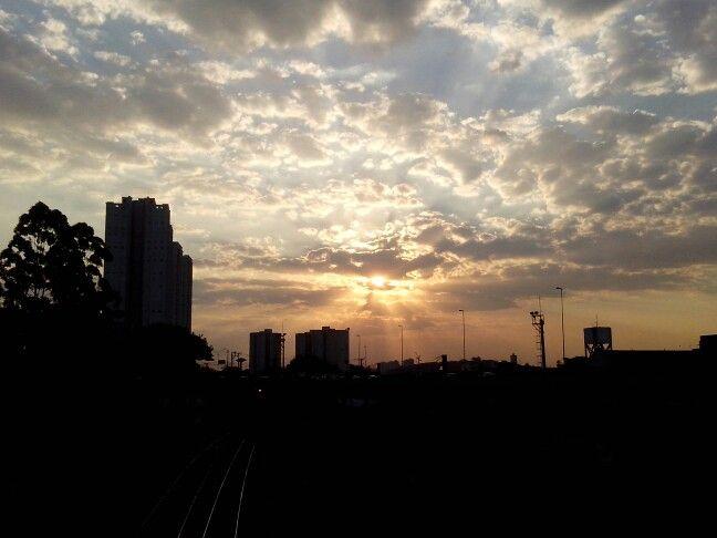 Nuvens fim de tarde.