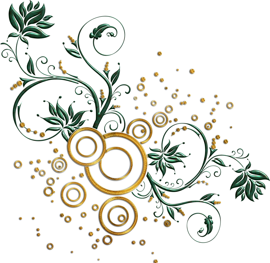 leaves and swirls png by Melissa tm on deviantART