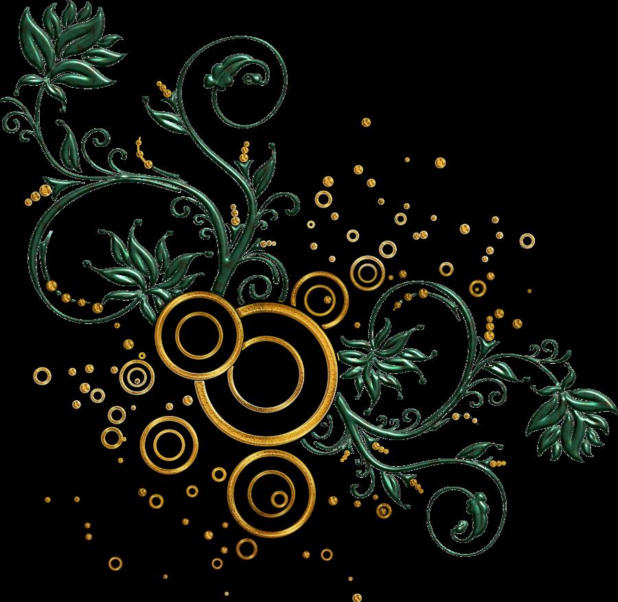 leaves and swirls png by Melissatm on deviantART Art