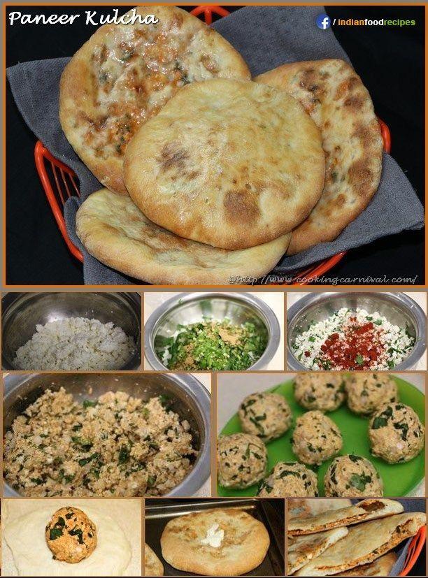 Paneer kulcha recipe step by step indian cuisine pinterest paneer kulcha recipe step by step paratha recipespaneer recipesindian food forumfinder Choice Image