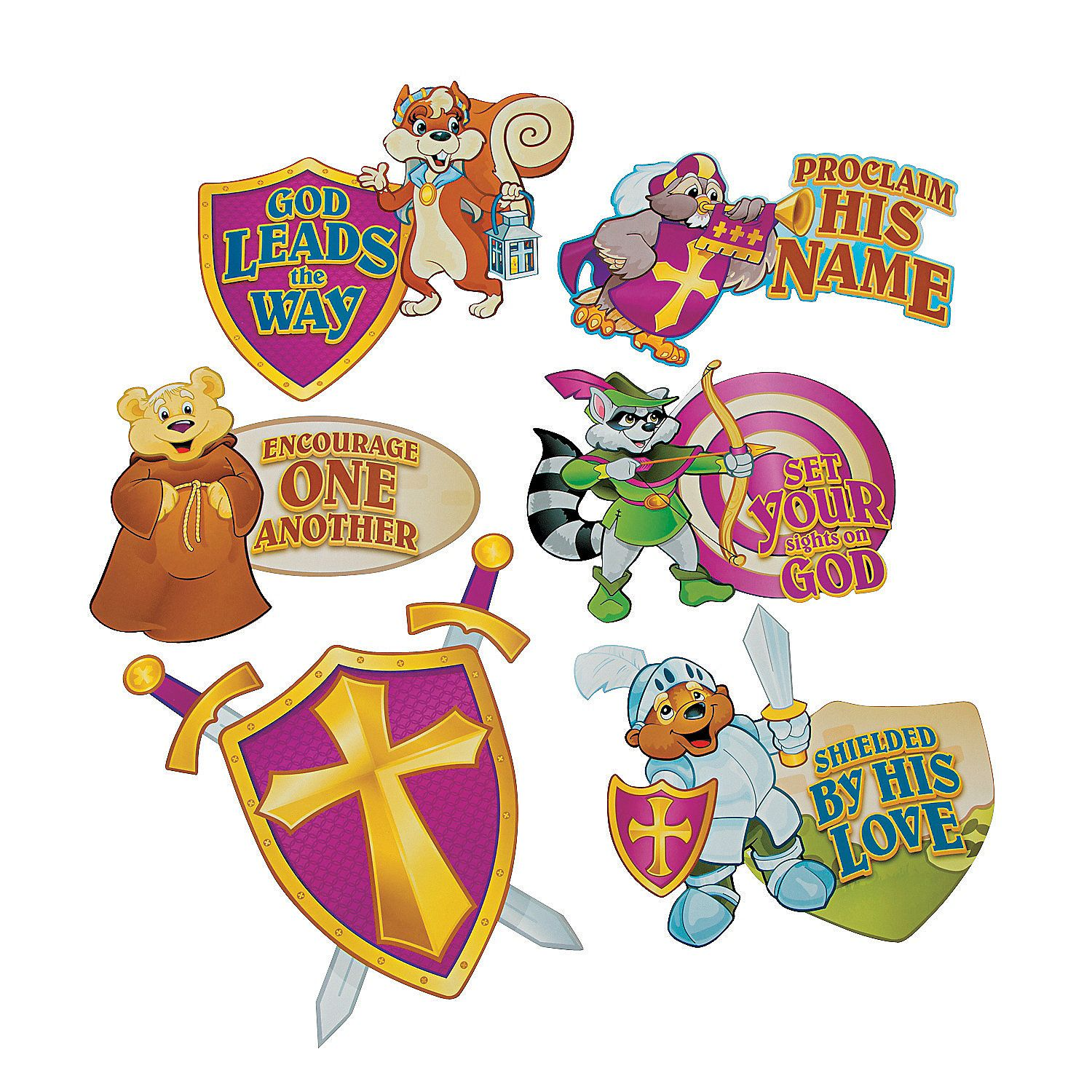 Mighty Kingdom Cutout Decorations