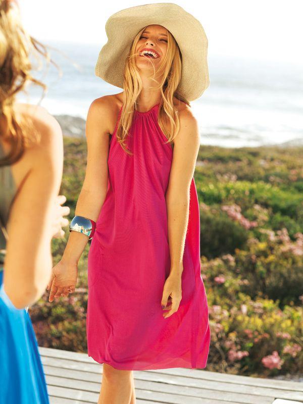 Neckholder Kleid – Schnittmuster Inspirationen zum Selbernähen von ...