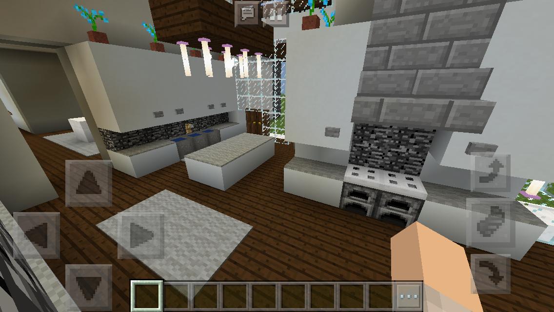 Modern House Kitchen Minecraft Interior Design Architecture