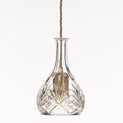 Lee Broom - Bell Decanterlight - Decanterlight is available in a Brushed Brass finish with Crystal glass. Also available as a chandelier and...