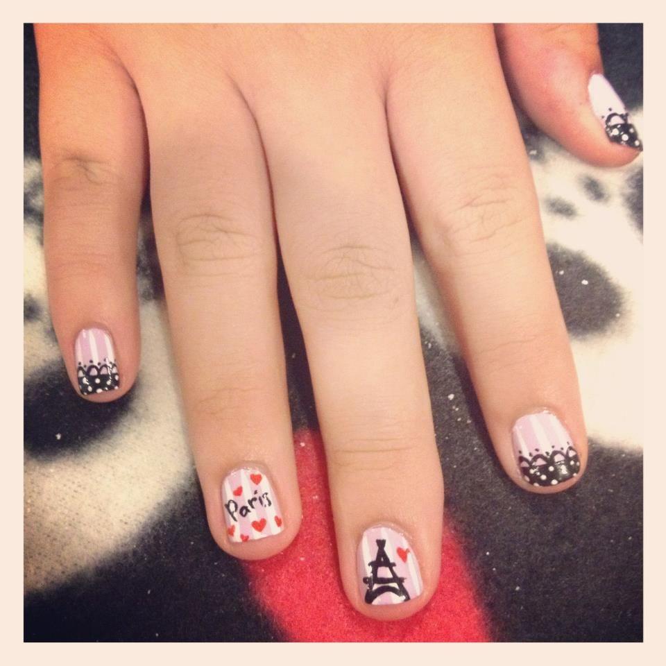Pin de llenifer cloy en uñas decoradas   Pinterest   Uña decoradas y ...