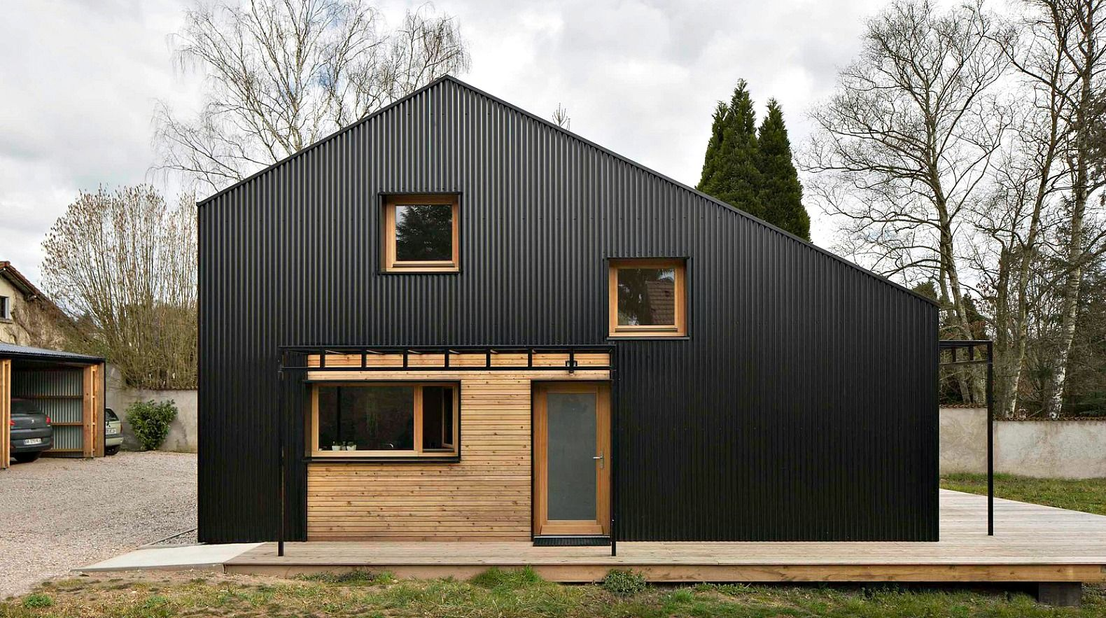 Studiolada Used All Wood Materials To Create This Affordable Open Source Home Anyone Can Build Affordable House Plans Building A House Architecture