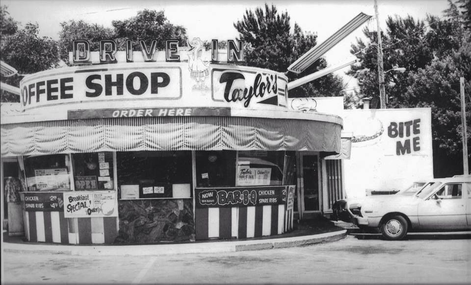 Taylor's Drive-In- Courtesy of a post on the FaceBook page, 'You Know You're From Chico When...'