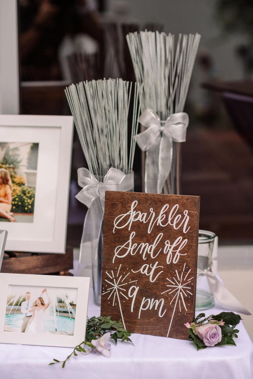 NEW* Wedding Sparkler Send Off Sign