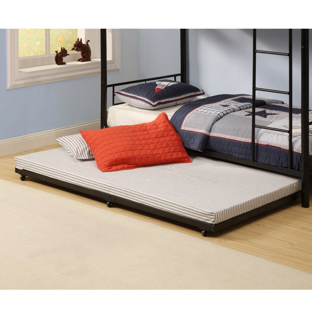 Twin Roll-Out Trundle Bed Frame - Kids Trundle Beds at Hayneedle ...