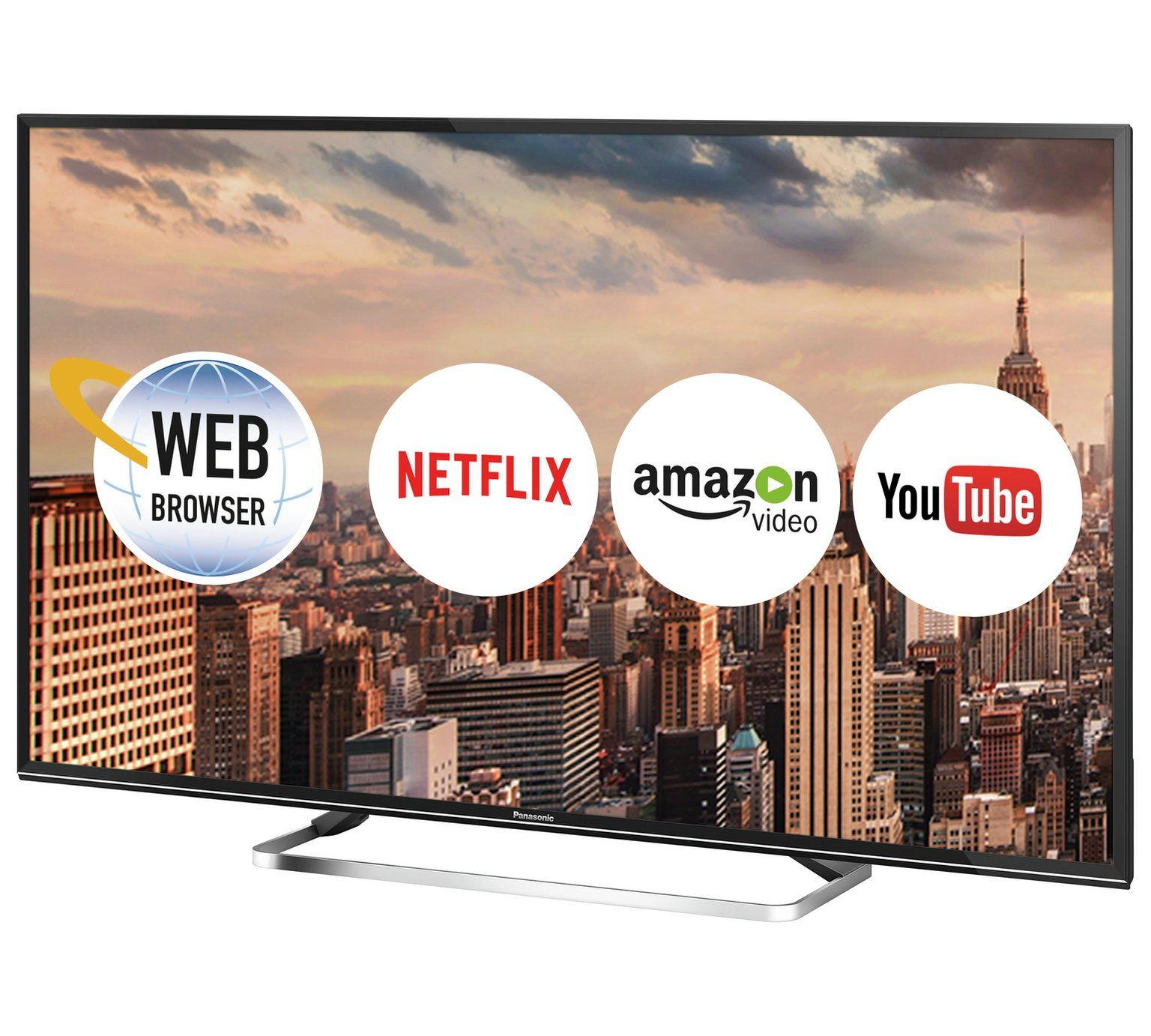 Buy Panasonic TX-49ES500B 49 Inch Full HD Smart TV at Argos.co.uk, visit  Argos.co.uk to shop online for Televisions, Televisions and accessories,  Technology