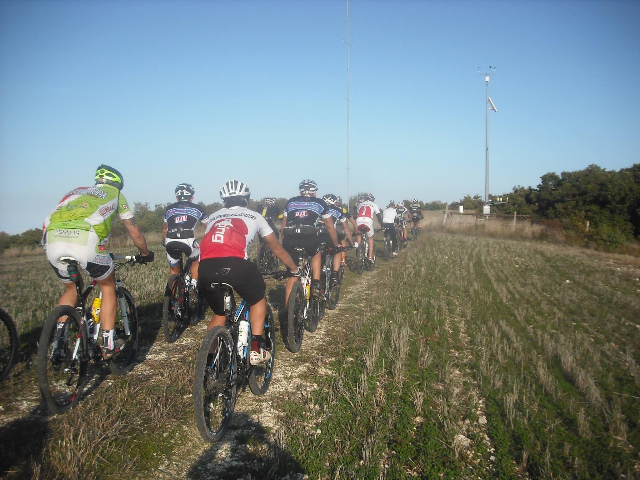 Merennuccia Bike a Cingoli in provincia di Macerata. Località Cima MastroLuca