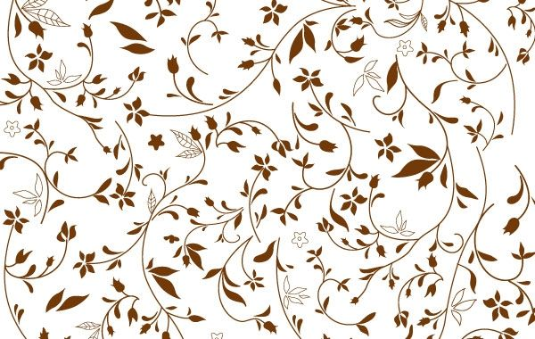 Free Floral Pattern - VectorFreak.com | Free Floral, Victorian ...