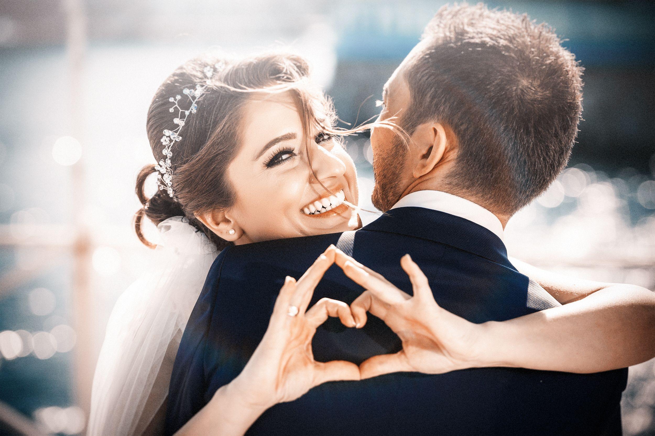 самой фото картинки свадьба пара которым