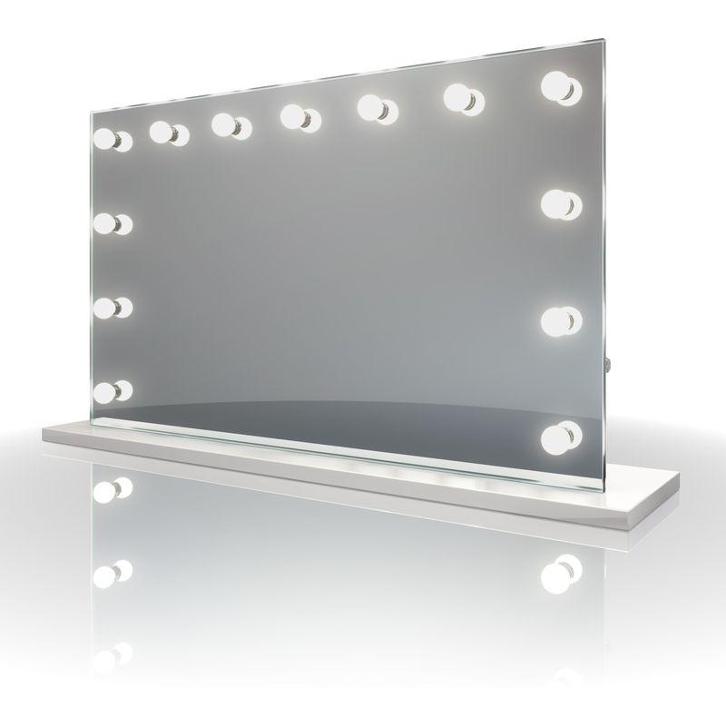 Miroir Simple De Salle De Bain Mirror Vanity Bathroom Lighting