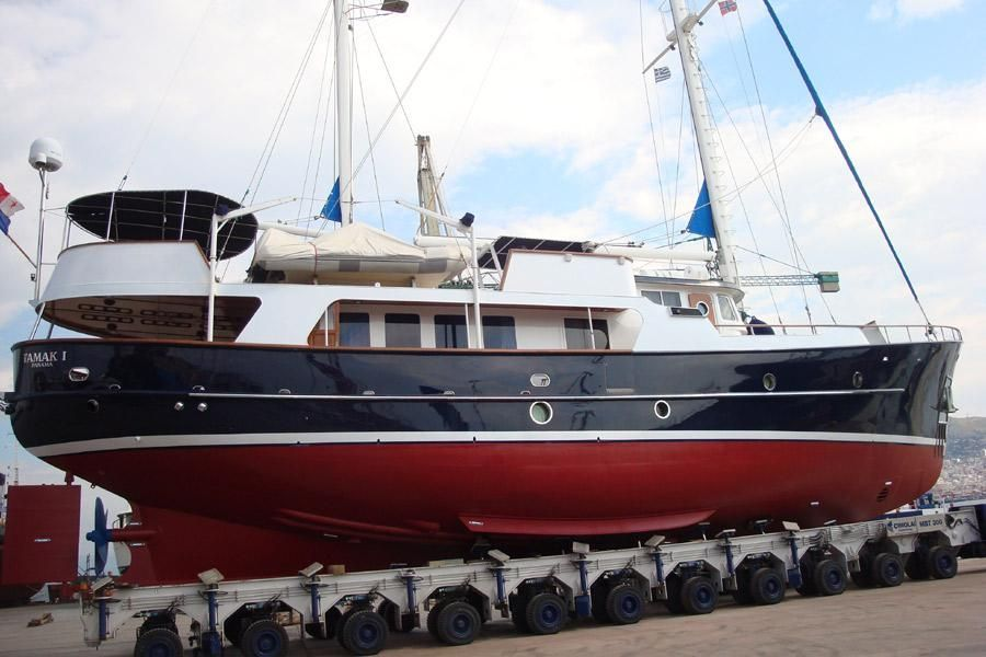 1986 Seaton Steel Motorsailer 26m Sail Boat For Sale Www