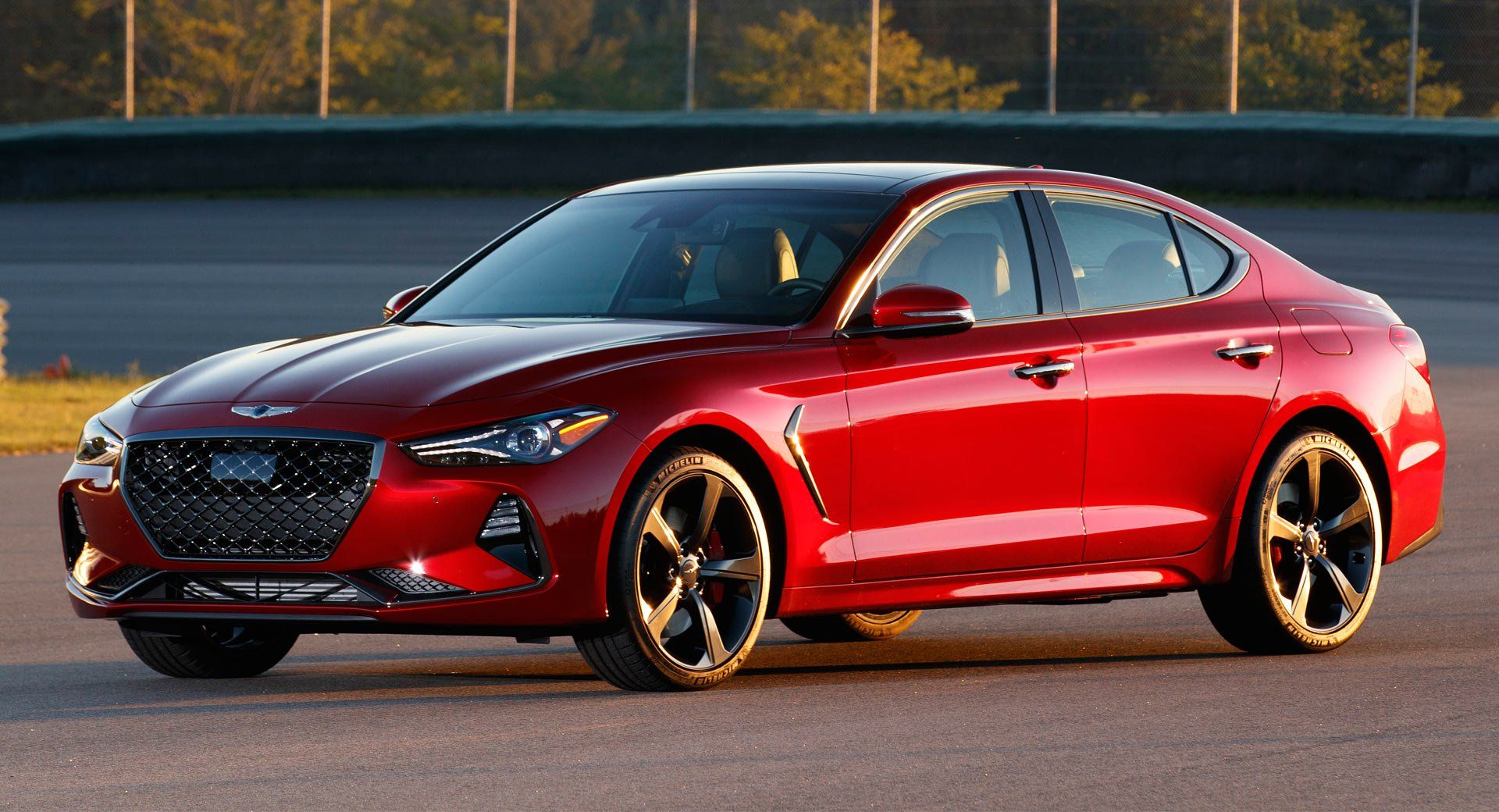 2019 Genesis G70 Starts At 34 900 The Same As The Bmw 3 Series Carscoops Bmw Bmw 3 Series Toyota Corolla Hatchback