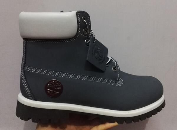 Grey Timberland Boots Mens 6 Inch with