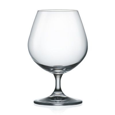 Red Vanilla Brandy Sniffer All Purpose Wine Glass
