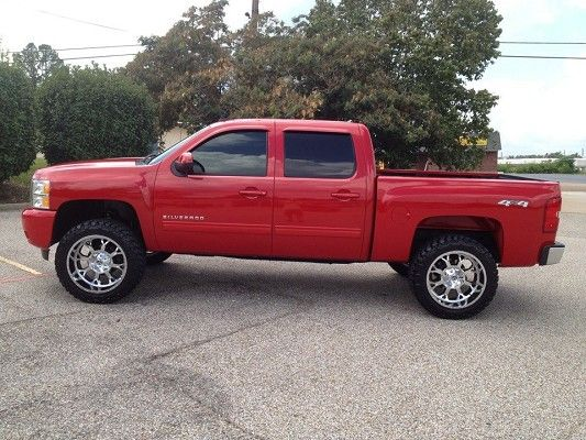 lifted jacked Chevy | Chevrolet Lifted Trucks Chevy | Silverado truck, Chevrolet Silverado ...