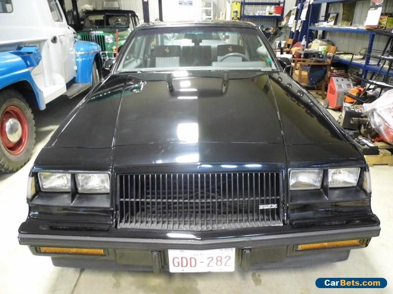 Buick Grand National Grand National Buick Grandnational Forsale
