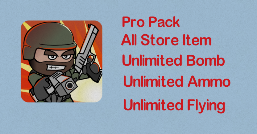Mini Militia Mod Unlimited Nitro Ammo Bomb Pro Pack Mod4games Com Download Free App Android Game Apps Download App