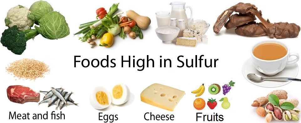 What Foods Are High In Sulphur