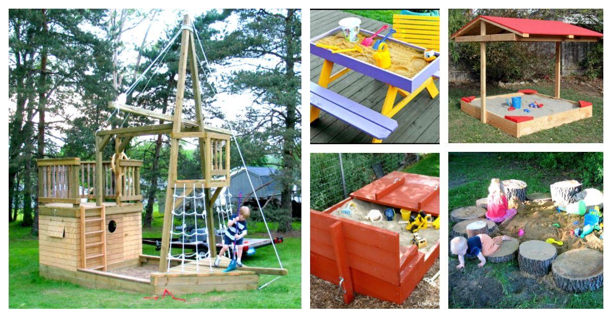 Best Sandbox Ideas For Kids With Images Backyard Sandbox
