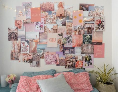 17 Super Ideas For Room Decor Wall Pictures Collage Wall Collage Decor Collage Apartment Aesthetic Room Decor