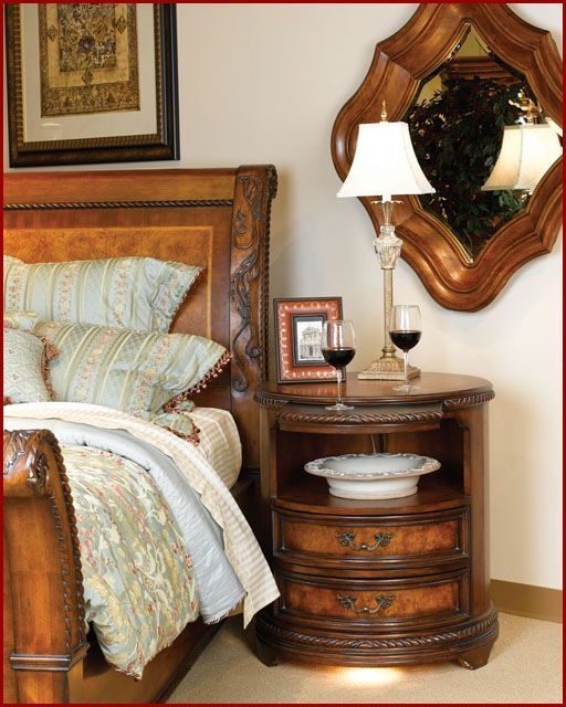 Aspen Furniture - Round Nightstand Napa AS74-451