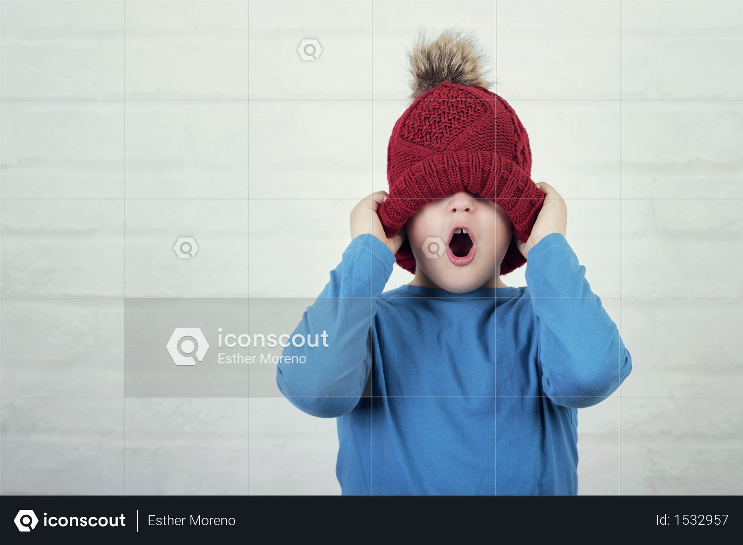 Premium Funny Child With Winter Hat Photo Download In Png Jpg Format Funny Kids Winter Hats Hats