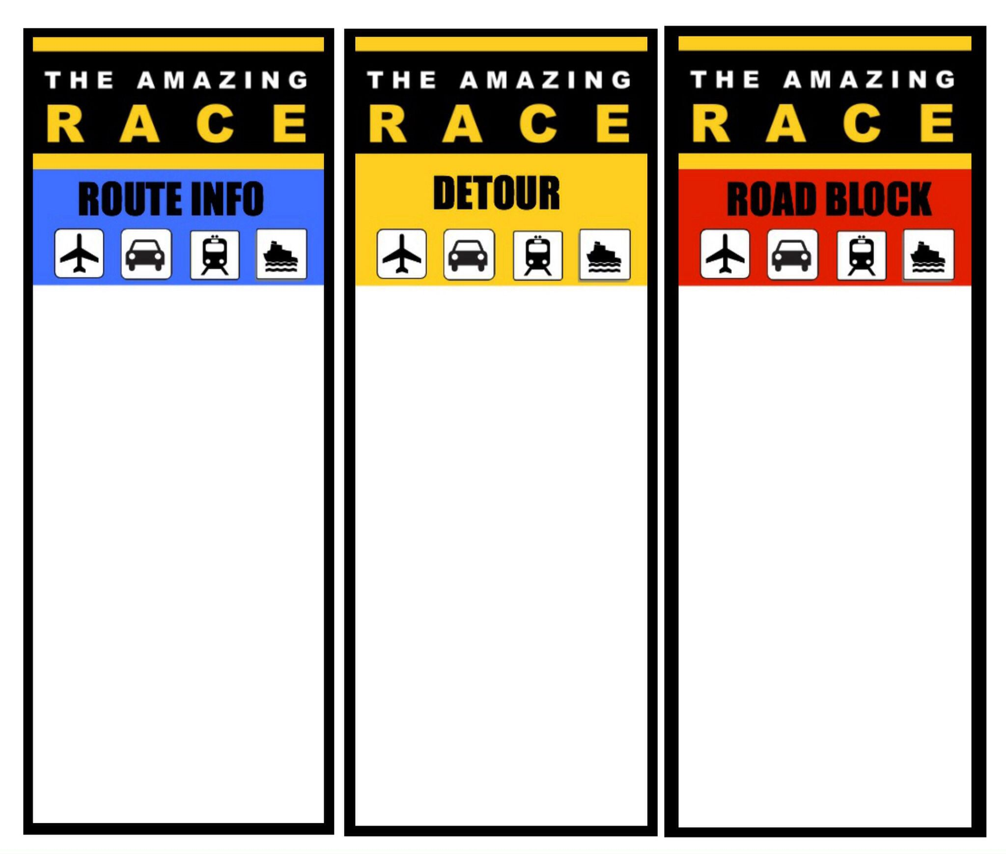 Printable Logo Amazing Race Games Amazing Race Challenges Amazing Race