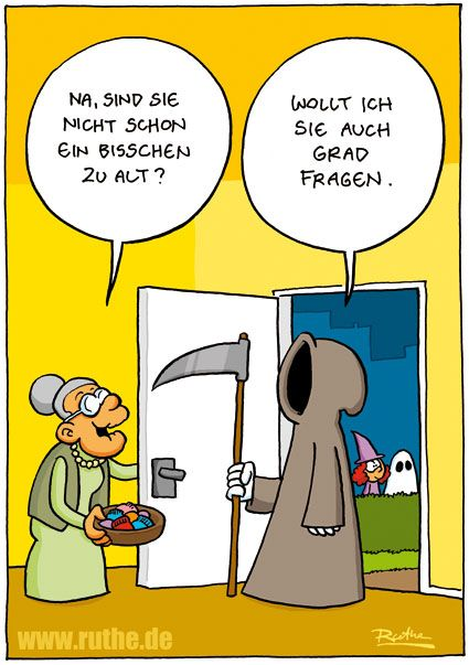 Wie gemein! ;)                                                                  … – funny (in german)