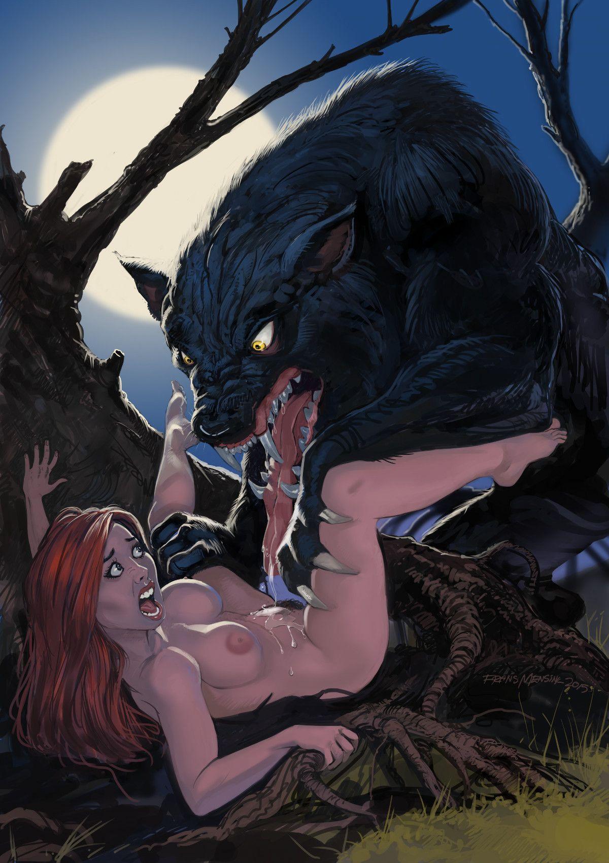 werewolf hentai