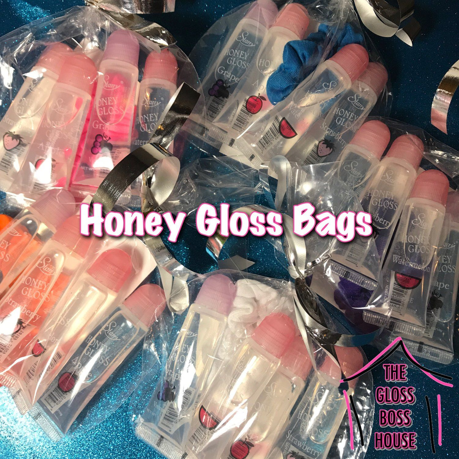 Honey Gloss Bags Candy Ice Couture Lip Gloss Collection Lip