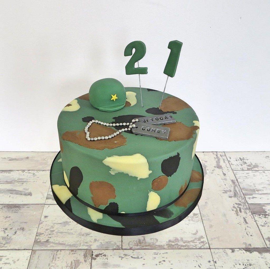 семнадцать армейские торты картинки способом