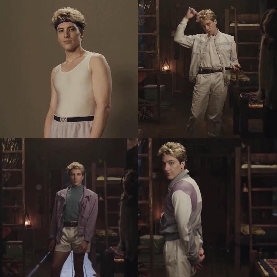 Let S All Appreciate Cody In 80 S Clothing For A Minute Because