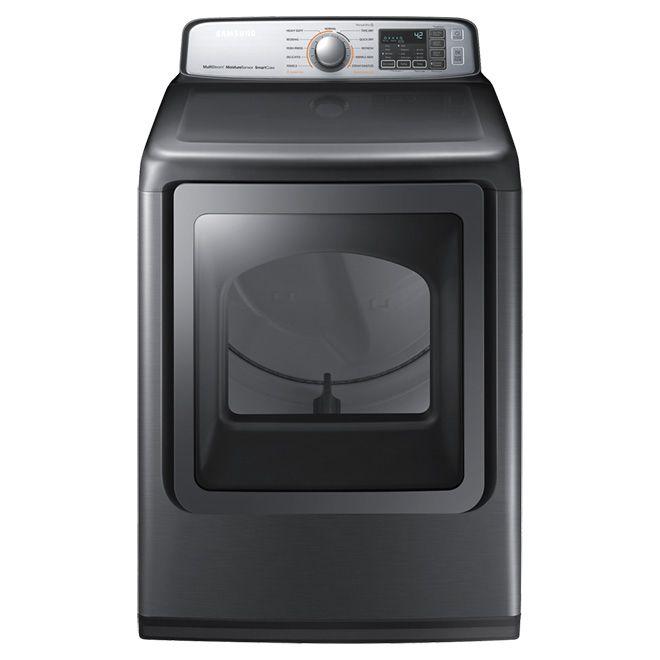 Samsung Electric Dryer 7 4 Cu Ft Platinum Rona Gas Dryer