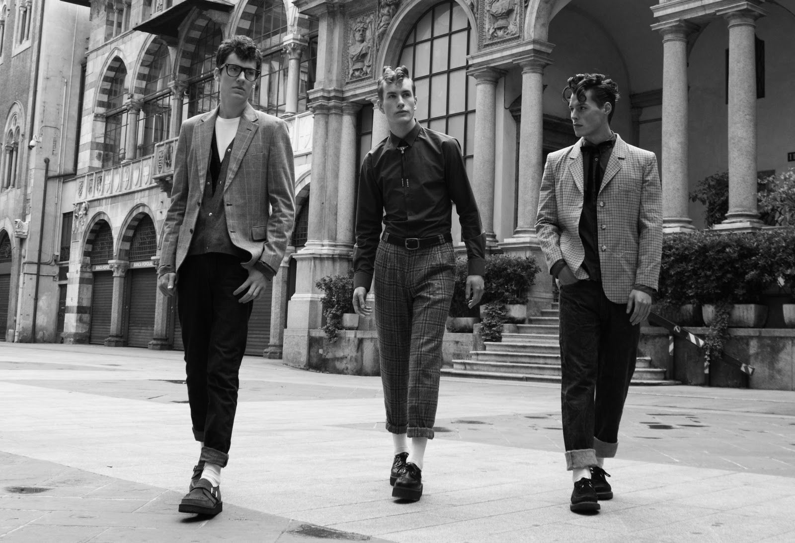 Teddy Boy fashion was a revival of Edwardian dandies fashion featuring  tapered trousers, long jackets and brothel creepers; associated with Rock n  Roll in ...